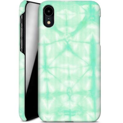 Apple iPhone XR Smartphone Huelle - Tie Dye 2 Mint von Amy Sia