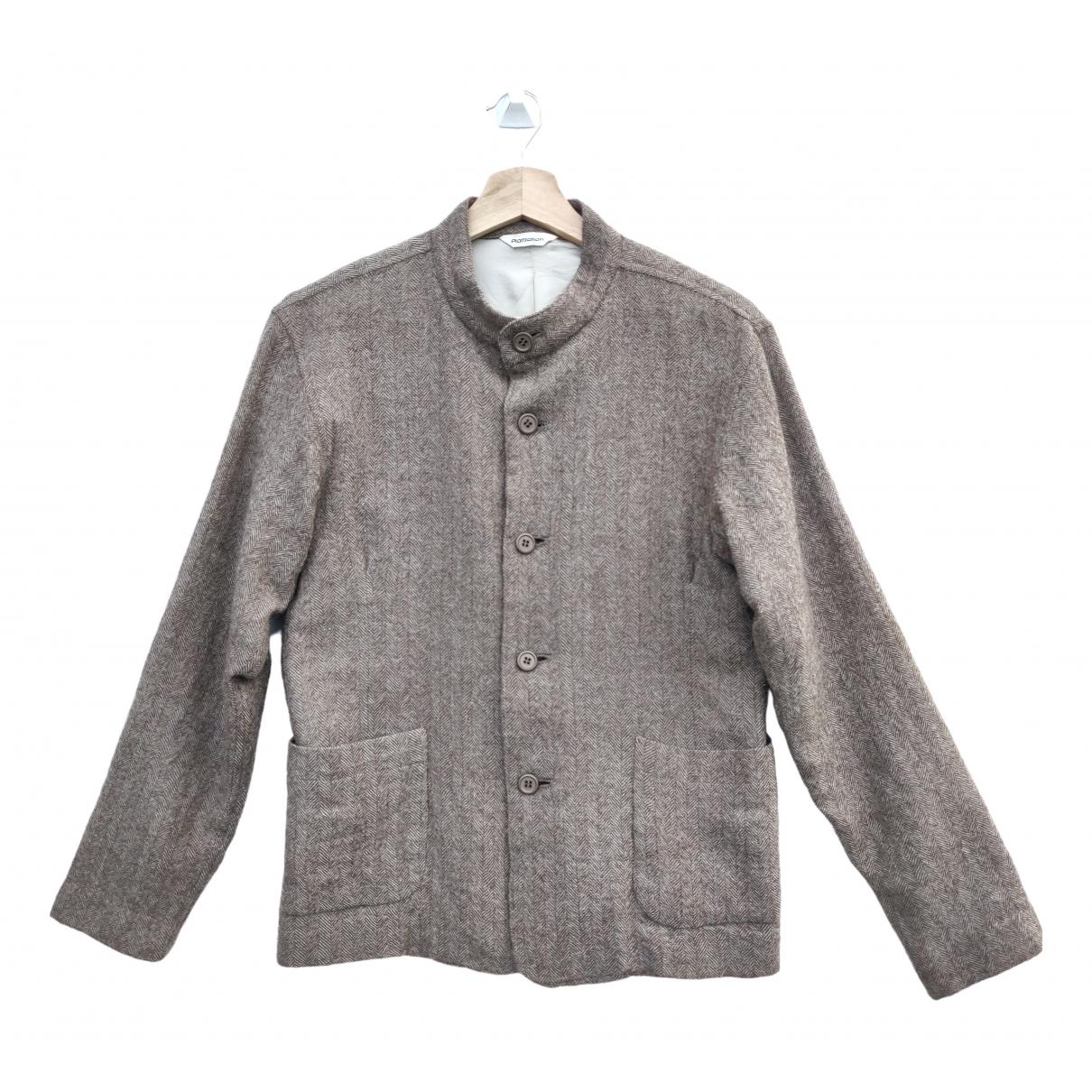 Issey Miyake \N Brown Wool jacket for Women M International