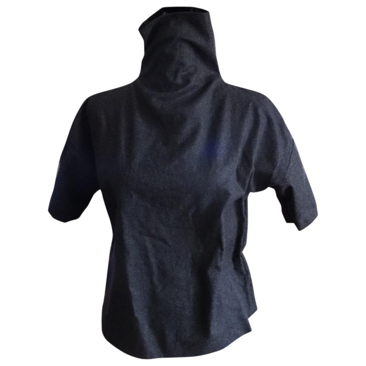 Trussardi \N Grey Wool  top for Women 38 FR