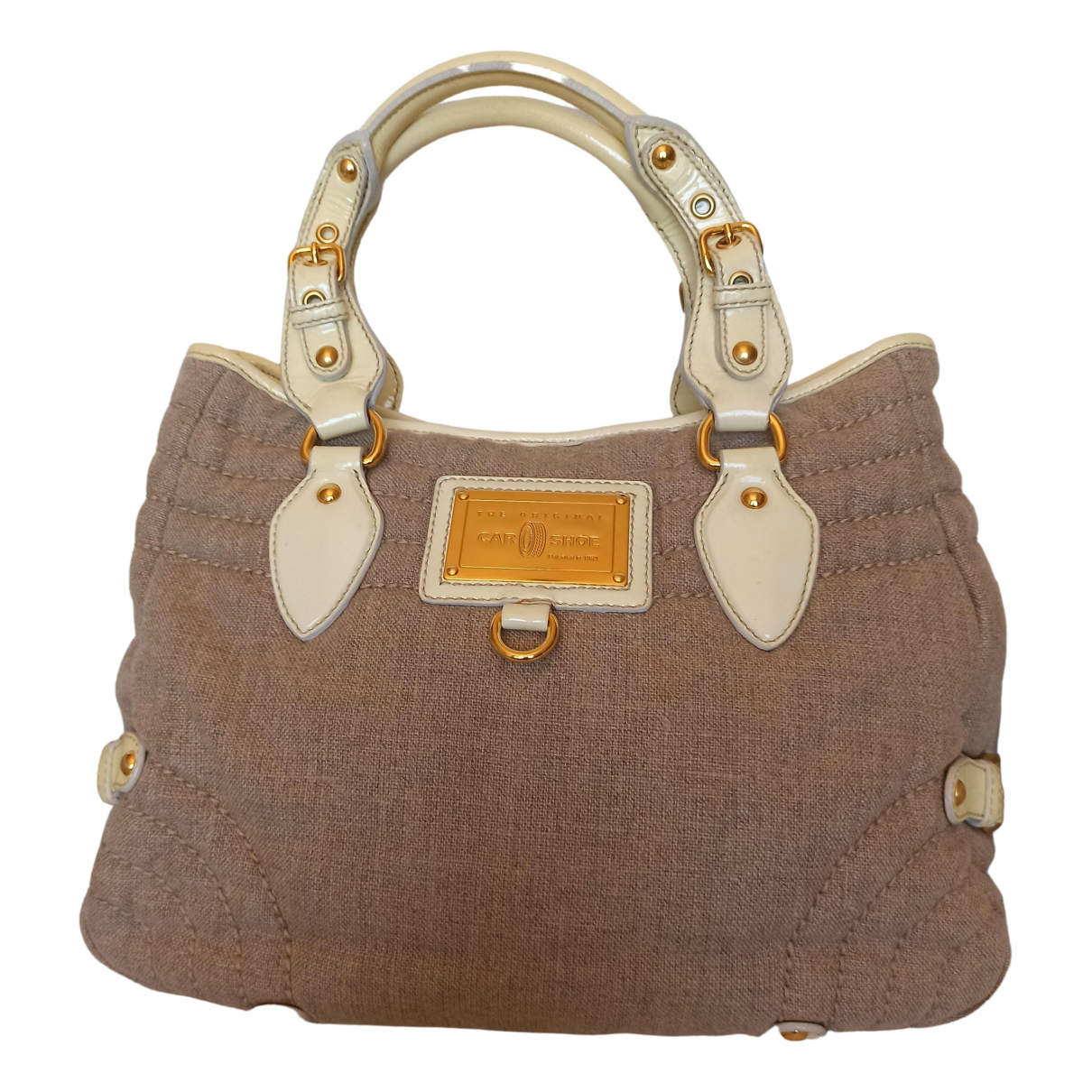 Carshoe \N Beige Cloth handbag for Women \N