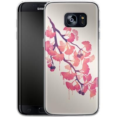Samsung Galaxy S7 Edge Silikon Handyhuelle - Ginko von Little Clyde