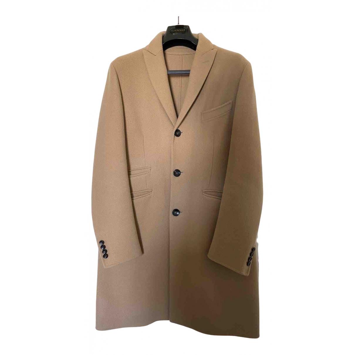 - Manteau   pour homme en laine - beige