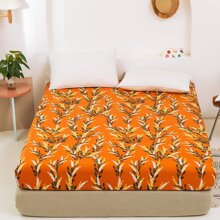 Plant Print Fitted Sheet