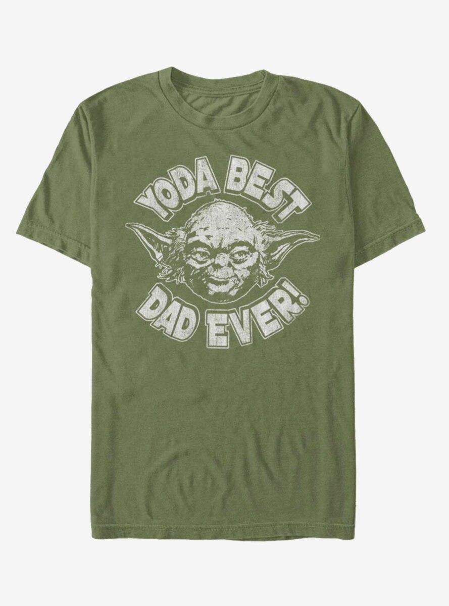 Star Wars Yoda Best Dad T-Shirt