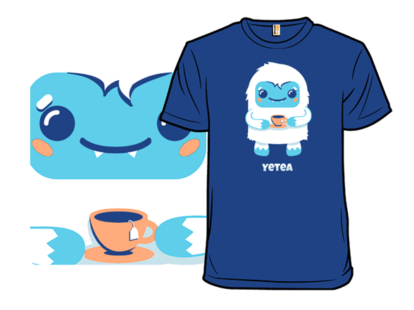 Yeti Tea Time T Shirt