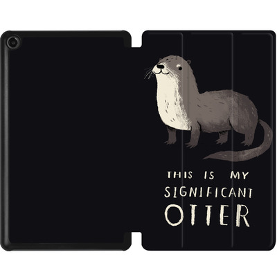 Amazon Fire 7 (2017) Tablet Smart Case - This Is My Significant Otter von Louis Ros