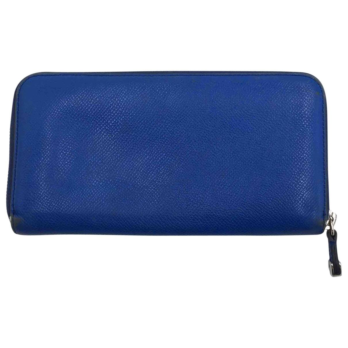 Tods \N Portemonnaie in  Blau Leder