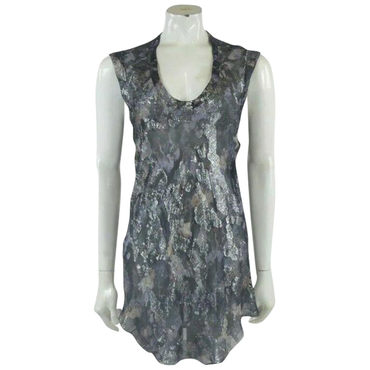 Isabel Marant \N Silver Silk  top for Women 36 FR