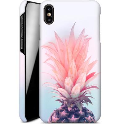 Apple iPhone XS Max Smartphone Huelle - Pastel Pineapple von Emanuela Carratoni