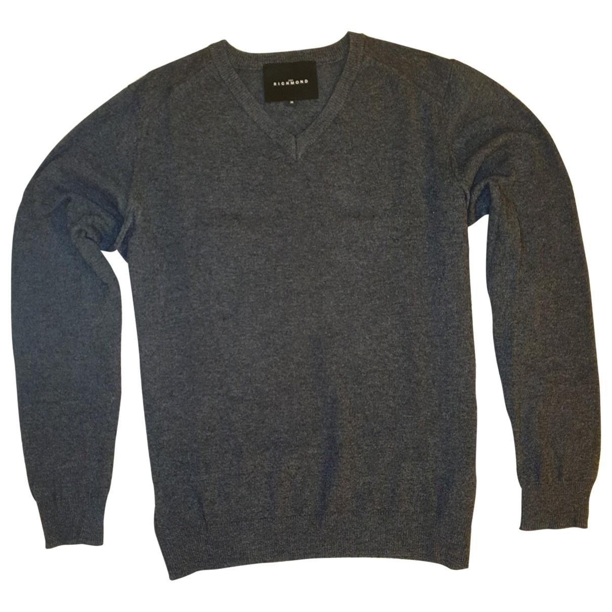 John Richmond \N Pullover.Westen.Sweatshirts  Grau