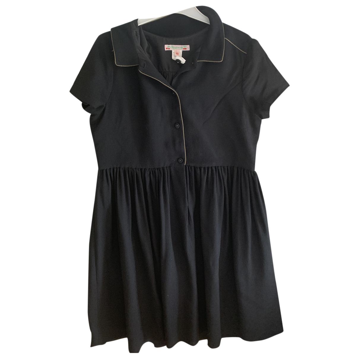 Bonpoint \N Kleid in  Schwarz Viskose