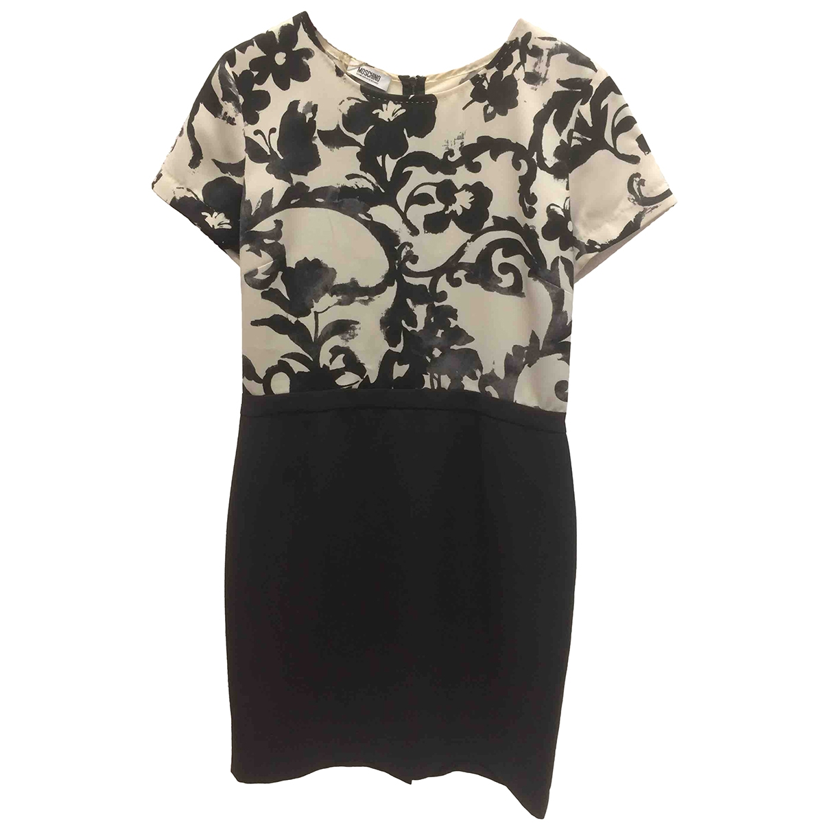 Moschino Cheap And Chic \N Kleid in  Schwarz Polyester