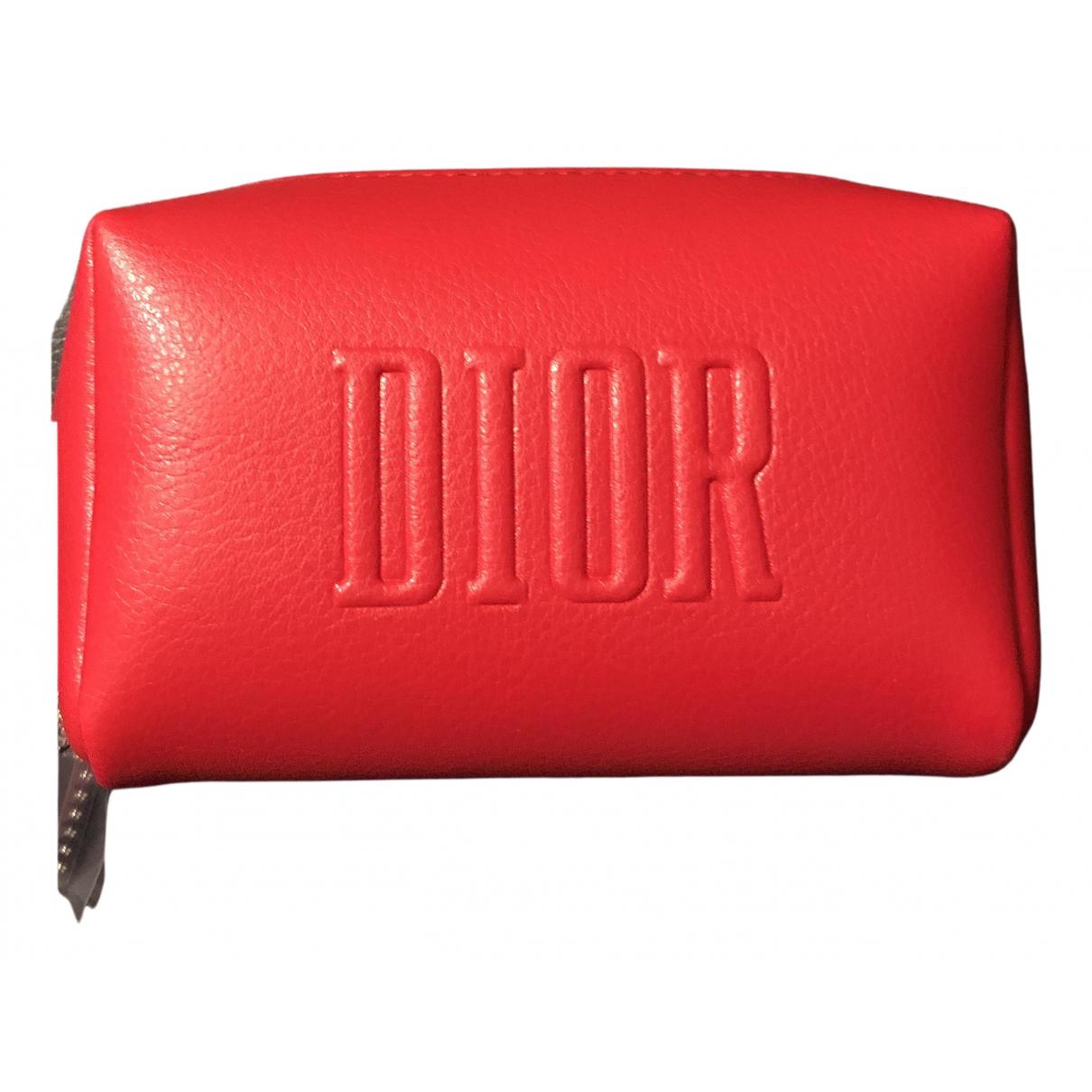 Dior \N Kleinlederwaren Rot