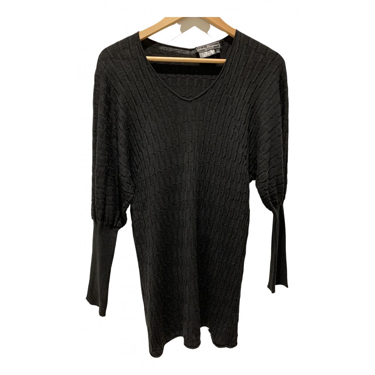 Salvatore Ferragamo \N Pullover in  Schwarz Wolle