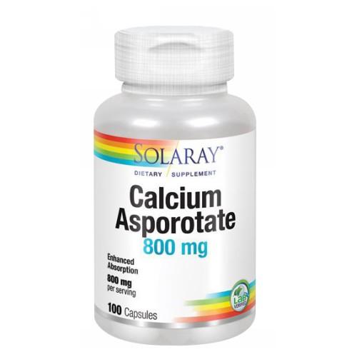 Calcium Asporotate 100 Caps by Solaray