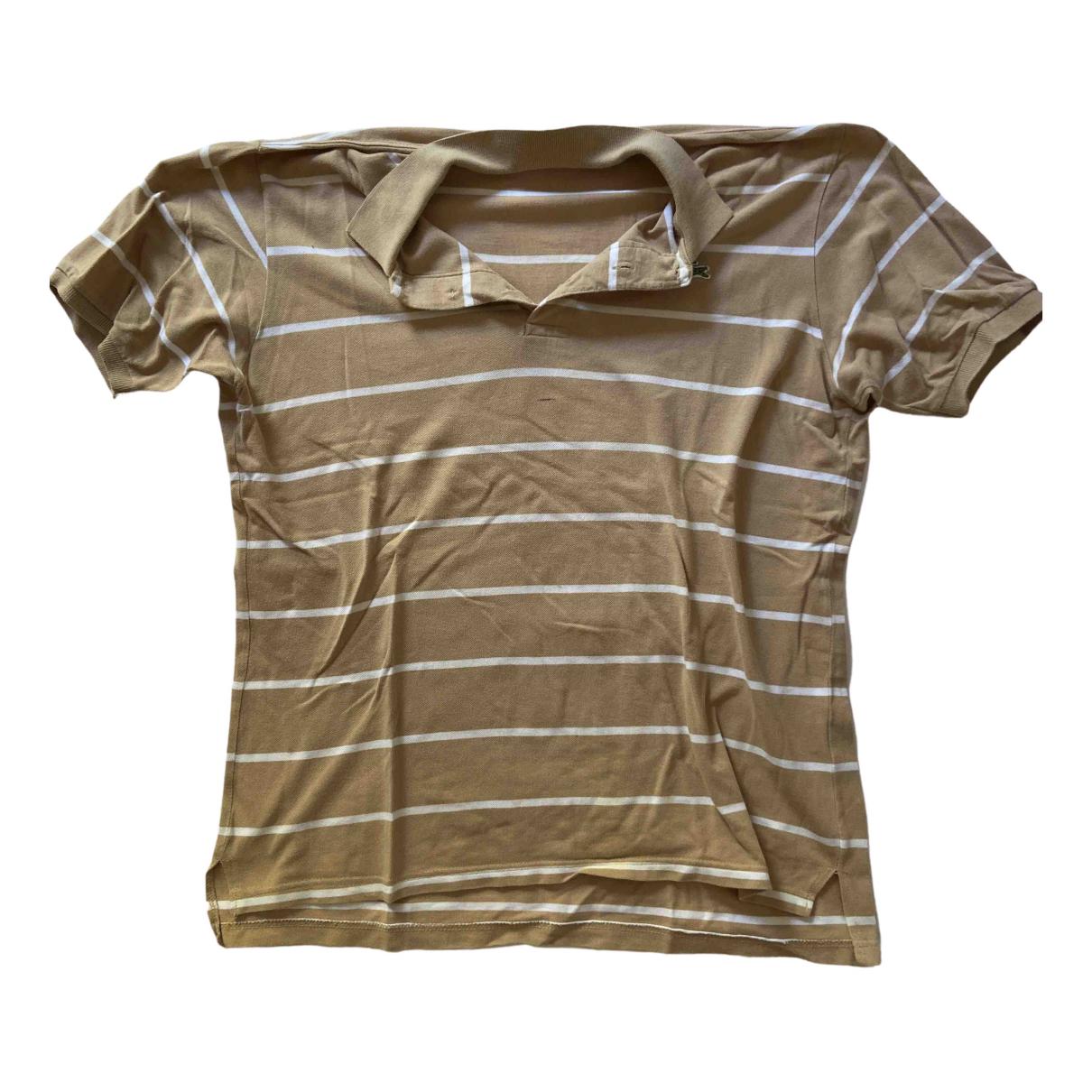 Lacoste \N Poloshirts in  Beige Baumwolle