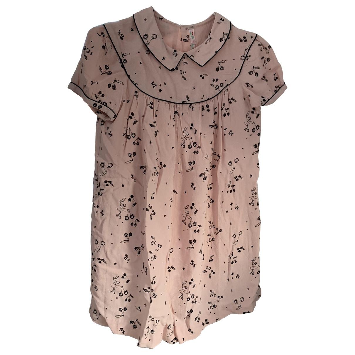 Bonpoint \N Kleid in  Rosa Viskose