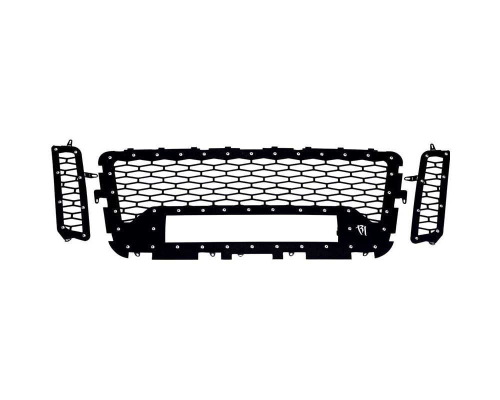 RIGID Industries Grille No Camera Fits One 20 Inch E-Series Pro Nissan Titan 2016-2017