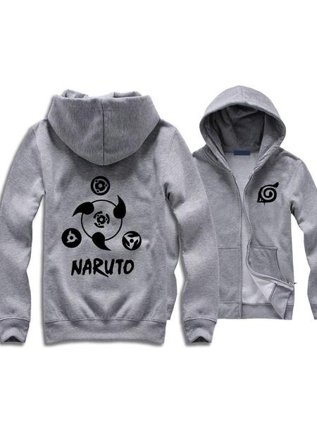Milanoo Naruto Sharingan Halloween Cosplay Hoodie Cool Japanese Hoodie