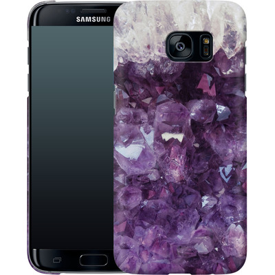 Samsung Galaxy S7 Edge Smartphone Huelle - Bold Ametista von Emanuela Carratoni