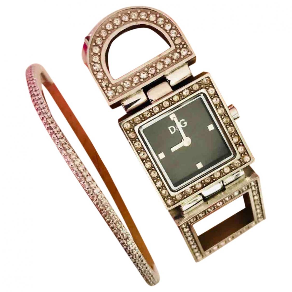 Dolce & Gabbana \N Silver Steel watch for Women \N