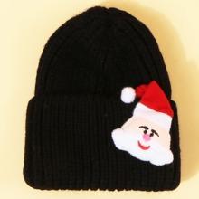 Christmas Santa Claus Pattern Beanie