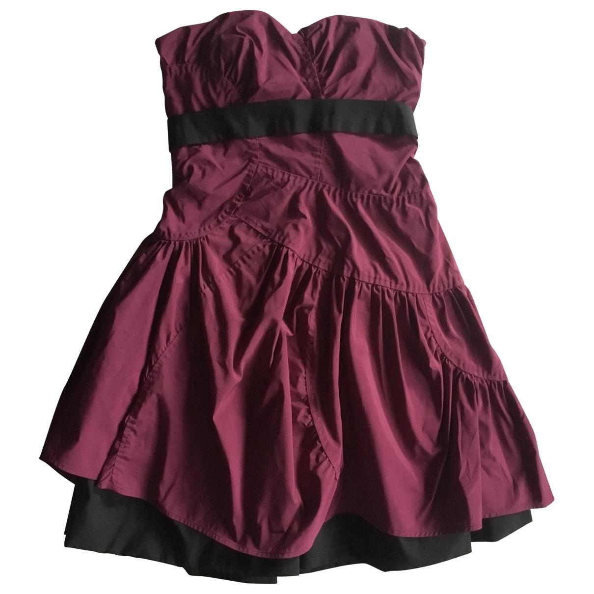 Miu Miu \N Kleid in  Rosa Polyester