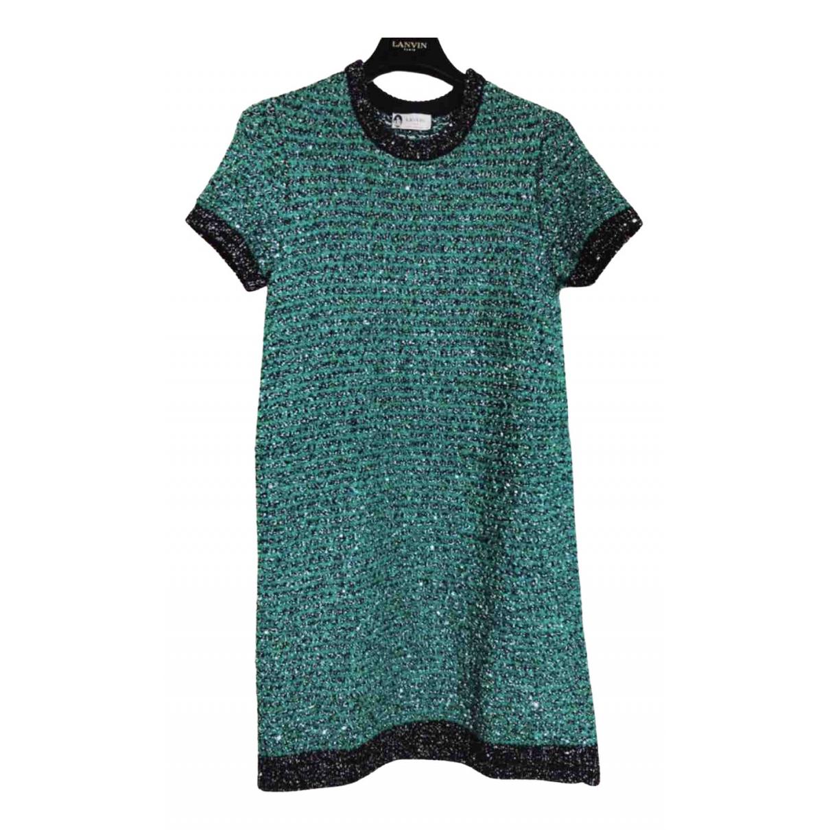 Lanvin \N Kleid in  Bunt Baumwolle
