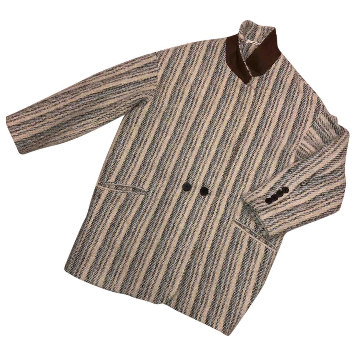 Lardini \N Multicolour Wool coat for Women 40 IT