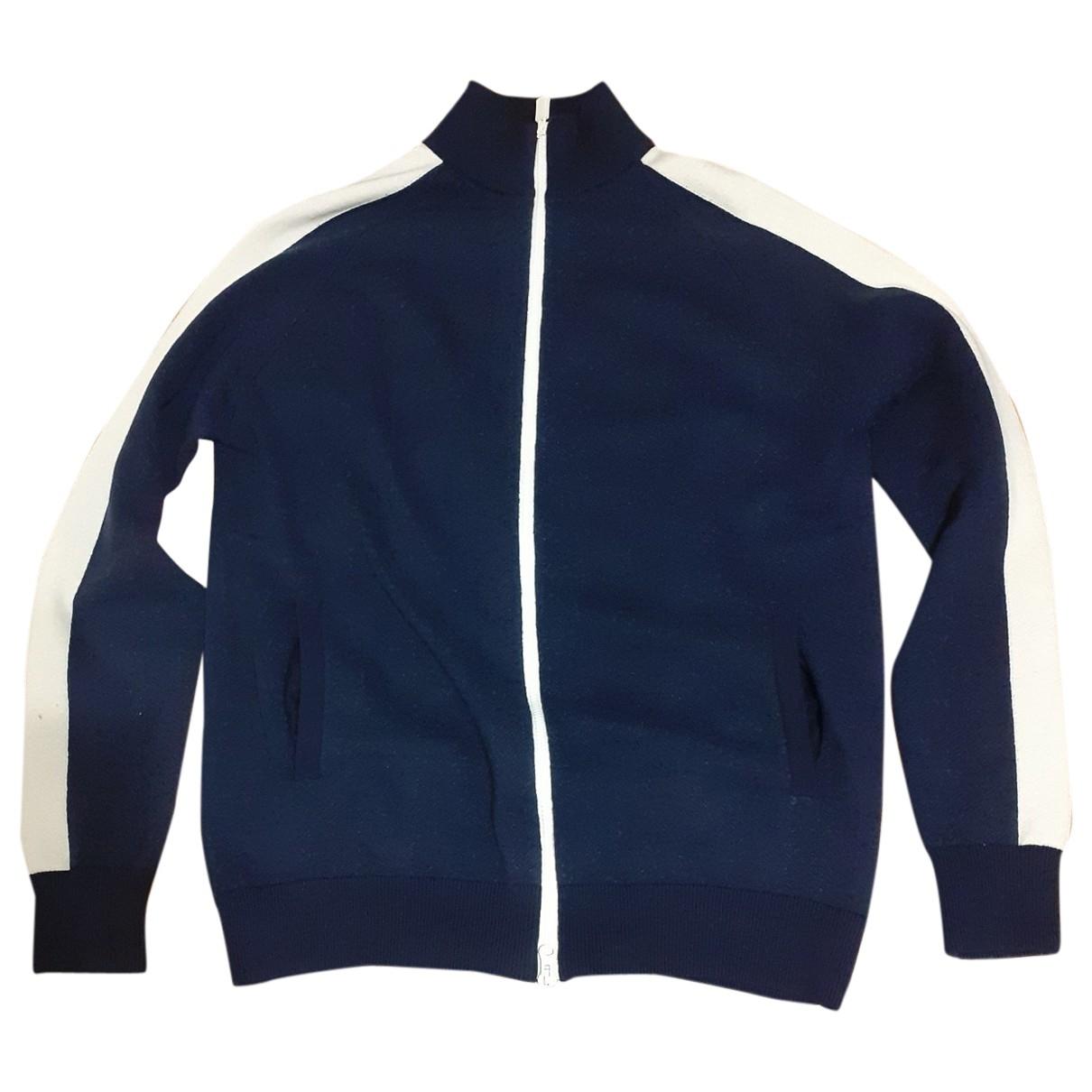 Aspesi \N Pullover.Westen.Sweatshirts  in  Blau Wolle