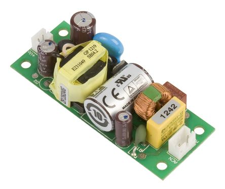 XP Power , 10W AC-DC Converter, 24V dc, Open Frame