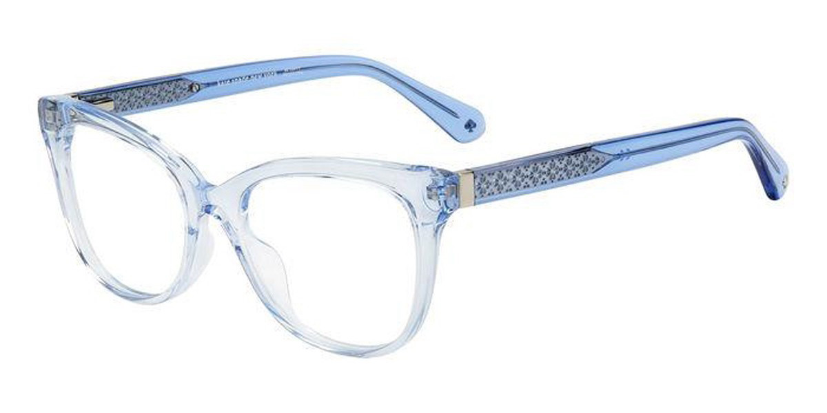 Kate Spade NEVAEH PJP Women's Glasses Blue Size 50 - Free Lenses - HSA/FSA Insurance - Blue Light Block Available