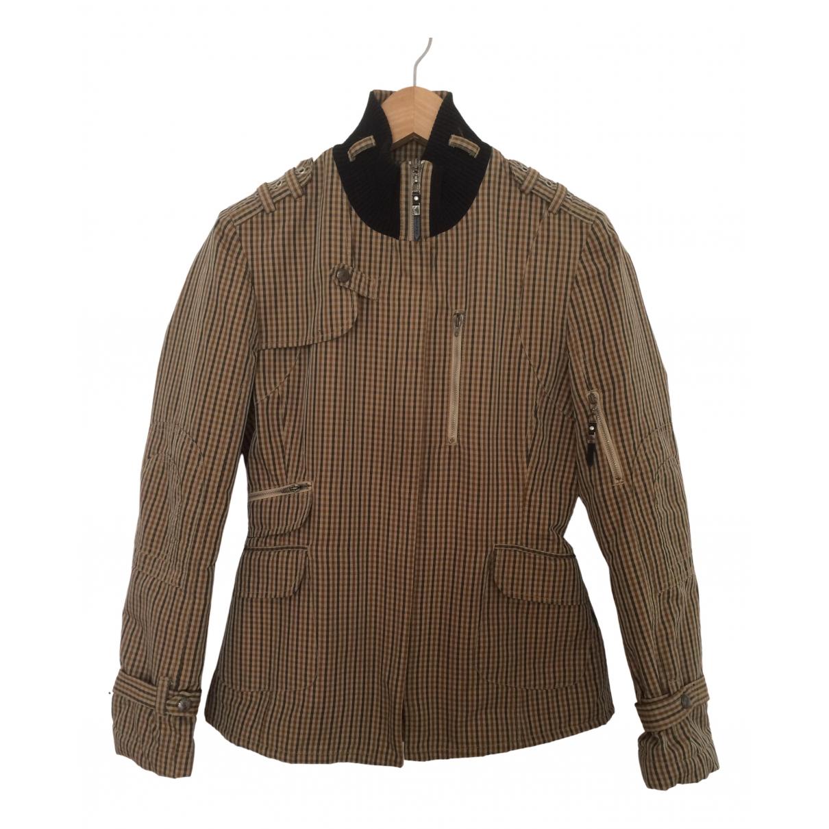 Costume National - Veste   pour femme en coton - marron