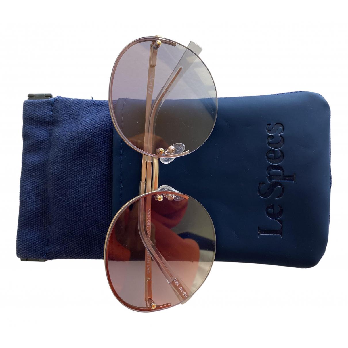 Le Specs - Lunettes   pour femme en metal - violet