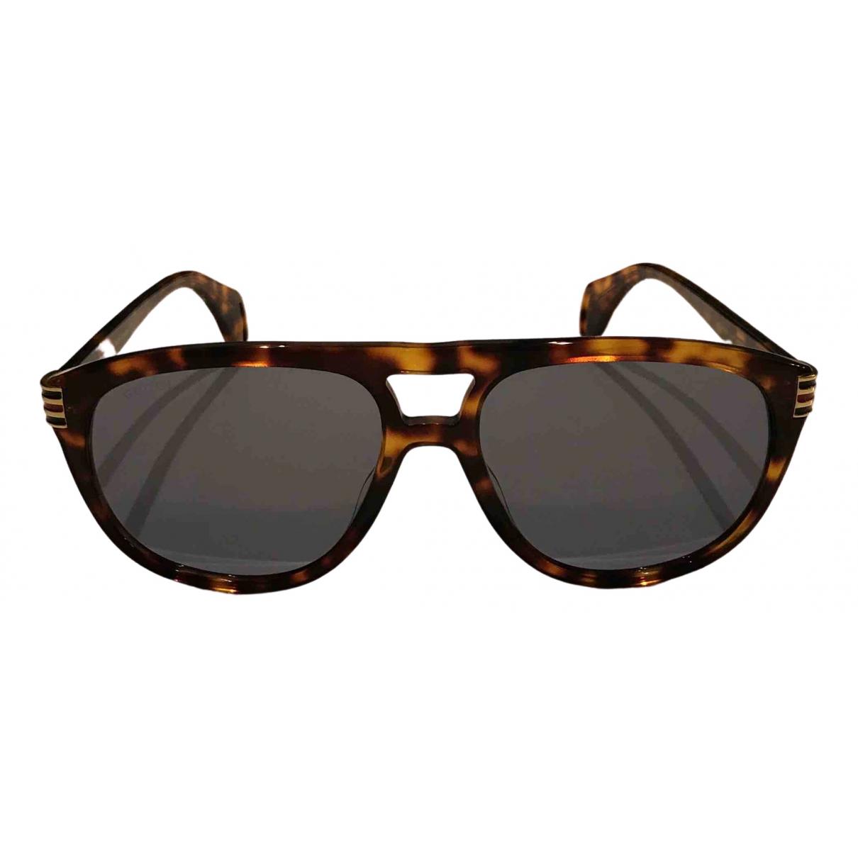 Gucci \N Brown Sunglasses for Men \N