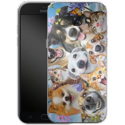 Samsung Galaxy A5 (2017) Silikon Handyhuelle - Selfie Fun in the Sun von Howard Robinson