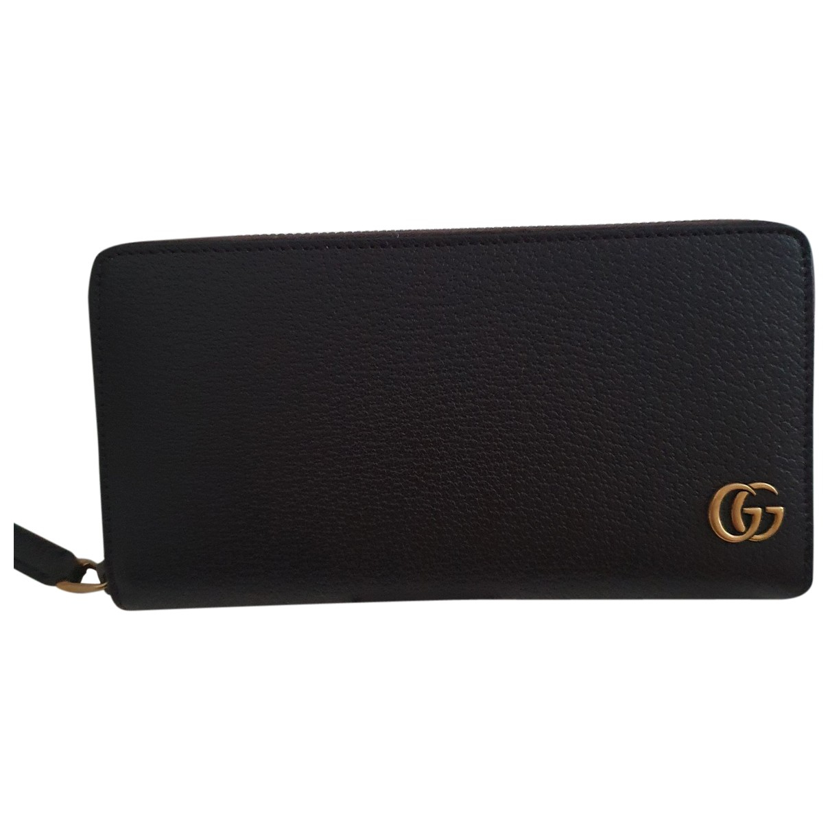 Gucci Marmont Brown Leather wallet for Women \N