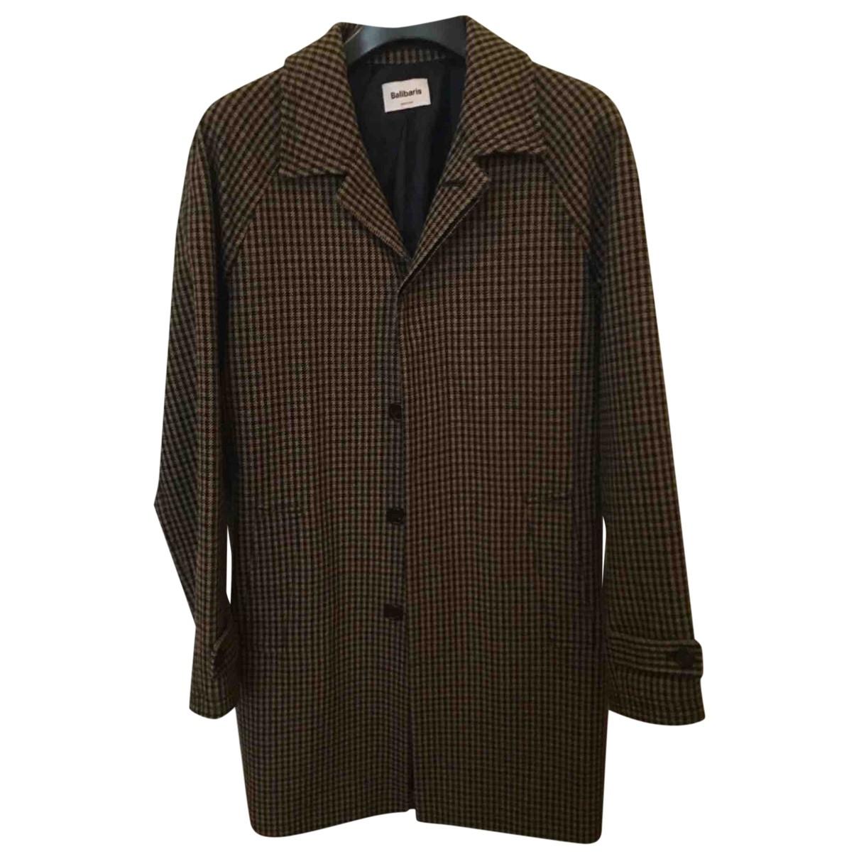 Balibaris \N Maentel in  Braun Wolle