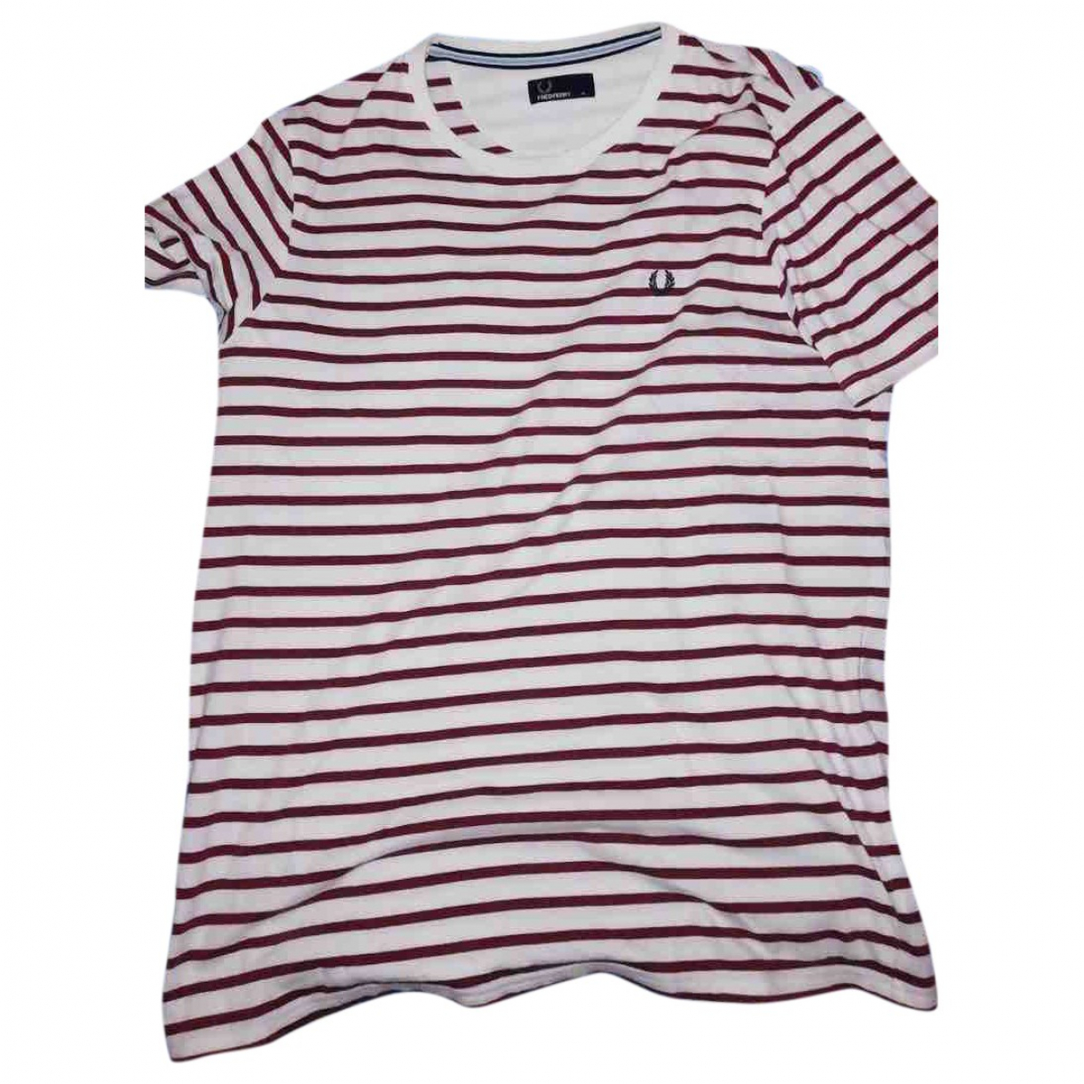 Fred Perry \N T-Shirts in  Weiss Baumwolle