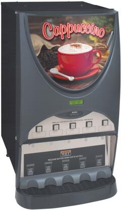 38100.0003 iMIX-5S+ Hot Beverage System With 5 Hoppers  High Efficiency LED Lighted Front Graphics  High Speed Heavy-Duty Whipper  in