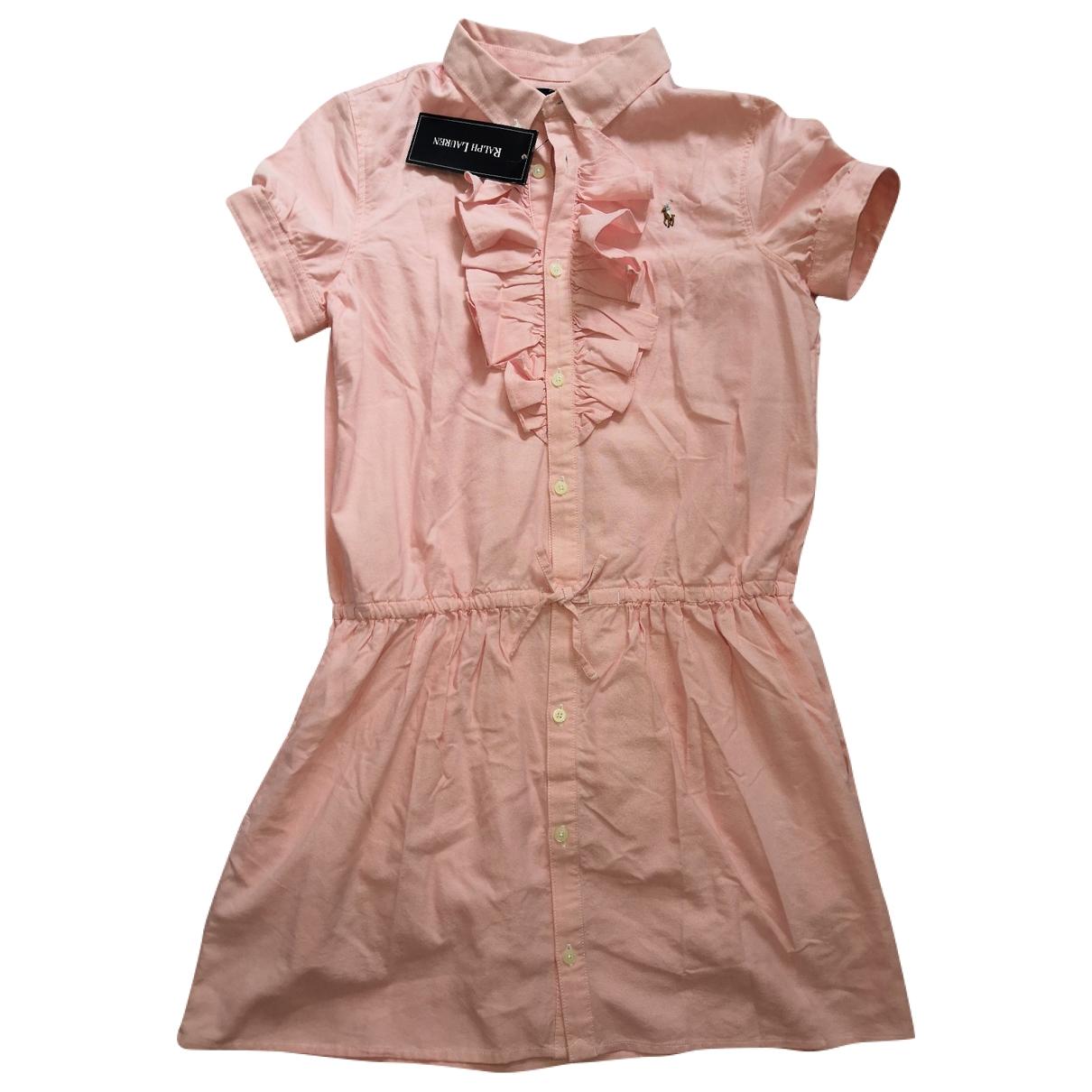 Ralph Lauren - Robe   pour femme en coton - rose