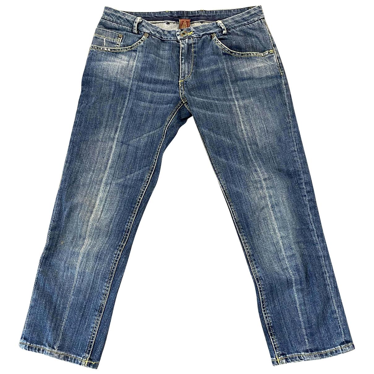 Dondup \N Blue Denim - Jeans Jeans for Women 26 US