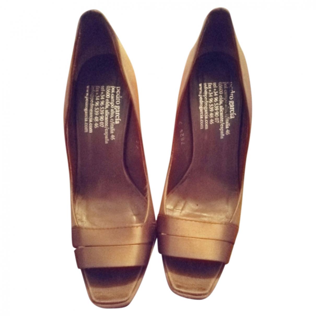 Pedro Garcia \N Cloth Heels for Women 37 EU