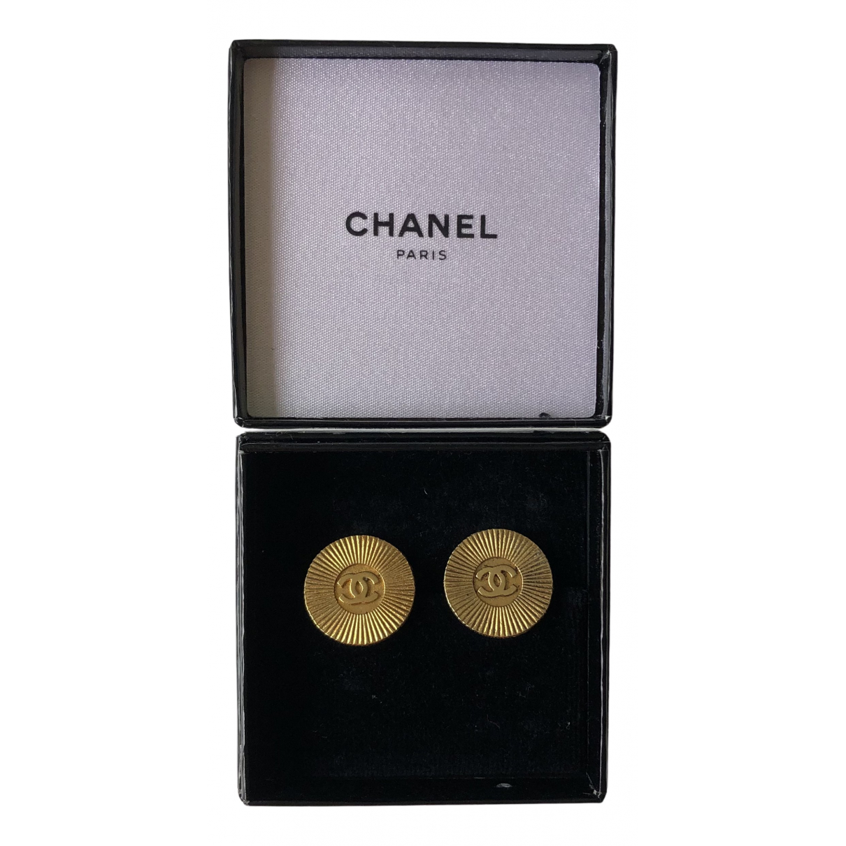 Chanel N Gold Metal Pins & brooches for Women N
