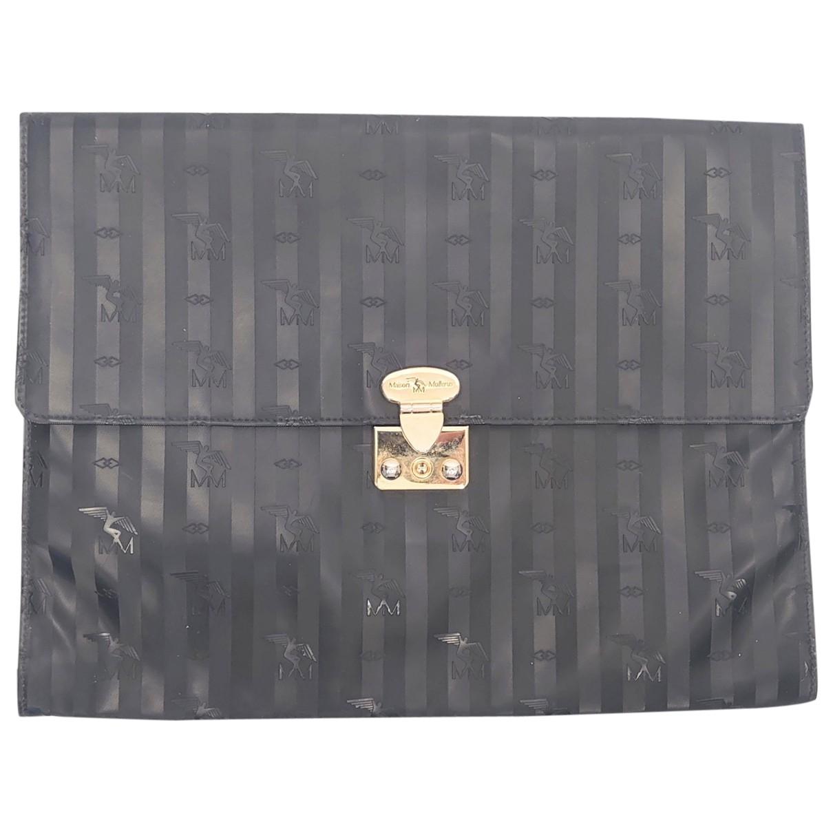 Mollerus - Pochette   pour femme en toile - noir