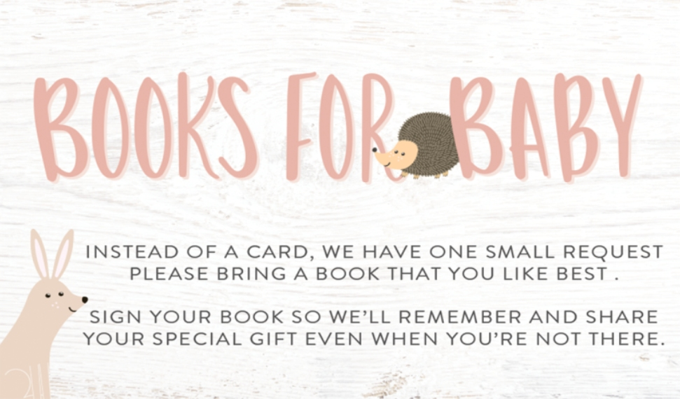Baby Shower Invitations Business Cards, Set of 40, Silk, Card & Stationery -Baby Shower Woodland Books by Tumbalina