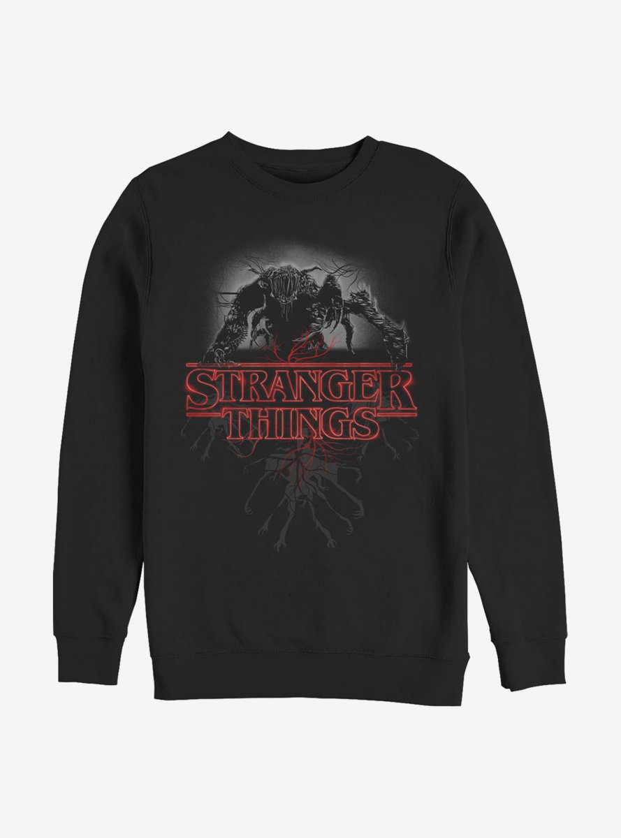 Stranger Things Logo Demo Glow Sweatshirt
