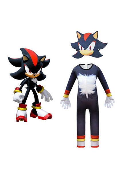 Milanoo Sonic The Hedgehog Sonic Halloween Cosplay Costume