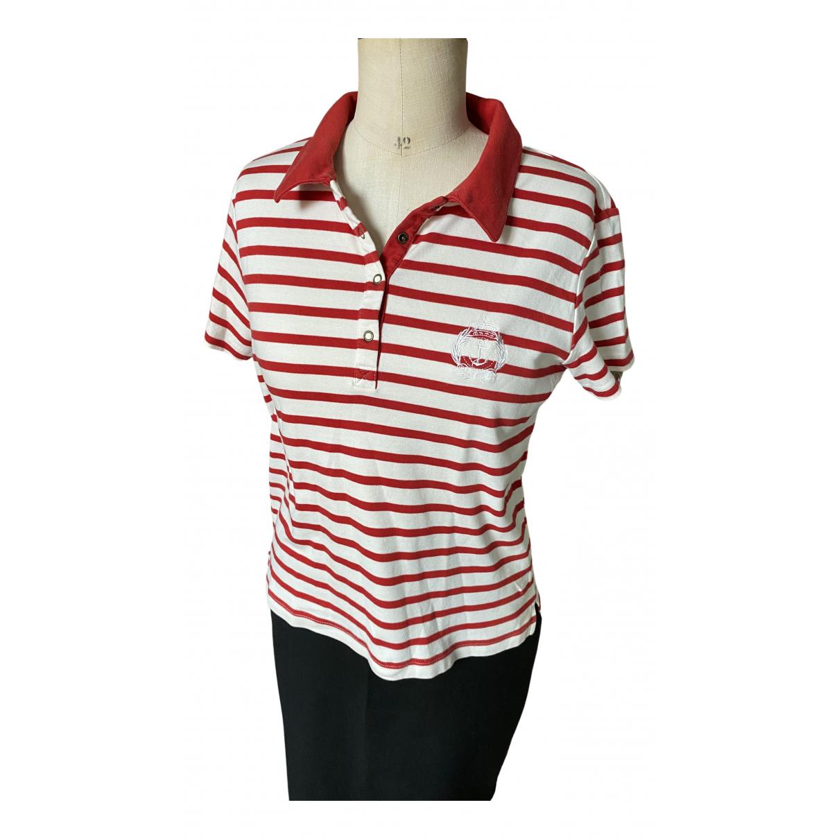 Saint James - Top   pour femme en coton - rouge