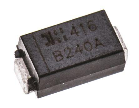 DiodesZetex Diodes Inc 40V 2A, Schottky Diode, 2-Pin DO-214AC B240A-13-F (50)